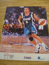 WNBA - PROMO POSTER -  DAWN STALEY - 1999 ENTREPRENEURIAL AWARD WINNER