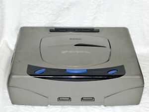 WOW! Sega Saturn - Game console System RARE! Japan Black