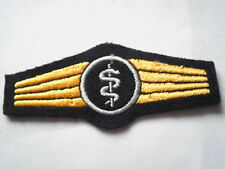 German Navy Navy Abz. for Medical personnel in blue / silver