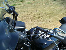 "9"" Road Glide Road 6 Customs Holey Roller Handle Bars, mini apes"