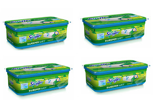 Swiffer® Sweeper Wet™ Mopping Pad Refills Cloths Open Window Fresh Scent 32/64/
