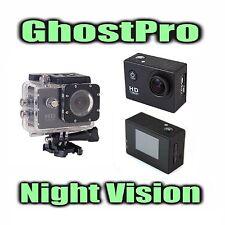 GhostPro Night Vision Camera HD 1080P 12MP - Paranormal Ghost Hunting Equipment
