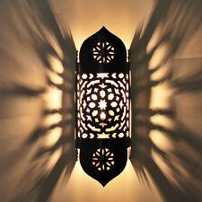 Grand Oriental Applique murale lampe marocaine en fer tajia H 45cm NEUF