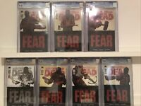 CGC 9.8 SET Walking Dead 97-102 Something To Fear  First Negan 2x100