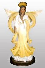 """Graceful Angel"" (Amber) African American figurines sculptures"