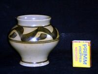 Pot Belly Vase Honiton England Pottery Hand Painted c1970 | FREE Delivery UK*