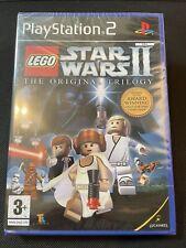 LEGO Star Wars II The Original Trilogy Ps2 Game New Sealed U.K. Pal Playstation2