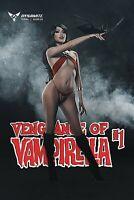 VENGEANCE OF VAMPIRELLA #1 COSPLAY VARIANT COVER 2019 DYNAMITE
