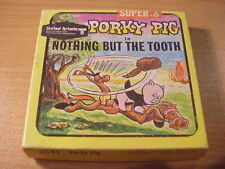 Super 8mm film - PORKY PIG in NOTHING BUT THE TOOTH - Cartoon - 5541