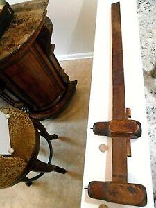 """Antique 30"""" Carpenters SCRIBE tool"""