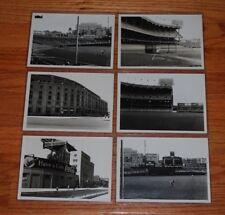 Lot of (6) circa 1949 Original Yankee Stadium B&W 5x7 Photos - Coca-Cola Sign