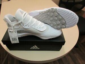 Adidas Icon V Turf Baseball Men Shoe Size 10 White New with Box Free Shipping
