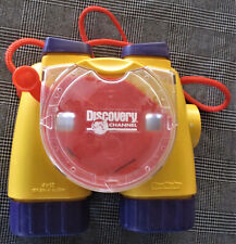 VTG FISHER PRICE 1998 VIEW-MASTER DISCOVERY CHANNEL YELLOW BINOCULARS 3D VIEWER