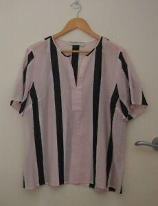 Sportscraft Striped Summer Top   ~Size 12~
