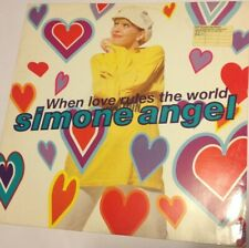 "Simone Angel - When Love Rules The World (12"")"