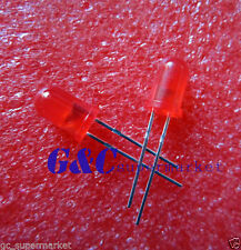 100Pcs LED F5 5MM RED COLOR RED LIGHT Super Bright Bulb Lamp L1