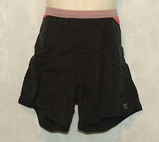 Mens TYR Board Shorts Size-Large Swim Casual Surf Ski Running Summer Red & Black