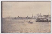 74530 Foto Ak Hafen in Port Jackson Circular Quay Sydney 2.8.1914