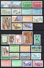 ANDORRE Années 1984 à 1988 complètes neuf ** (49 timbres)