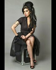 Amy Winehouse Beautiful Singer & Model 8x10 Glossy Color Photo