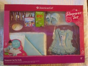 """American Girl Travel Set DUFFLE BAG ONLY White Canvas For 18"""" Doll From Book Set"""