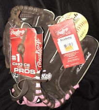 "Rawlings FP110 11"" Leather Softball Glove Right Hand Thrower Youth NEW with Tags"