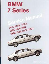 1995-2001 BMW E38 740i 740iL 750iL Service Repair Workshop Shop Manual B701