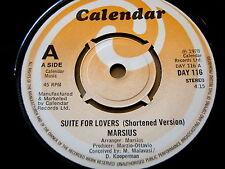 """MARSIUS - SUITE FOR LOVERS  7"""" VINYL"""