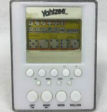 Yahtzee Electronic Hand Held Game Hasbro 2007 Tested Working Free Shipping