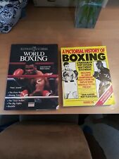 2 Boxing Books mike tyson and a history of boxing