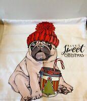 Pug Pillow Cover 2 Designs