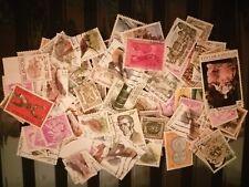 Belgique - lot de 100 timbres oblitérés - lot J11.