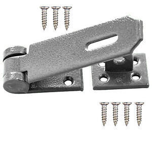 3.5 Inch Heavy Duty Security Hasp & Staple Clasp For Door And locks Shed Garage