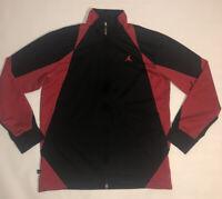 Air Jordan Jumpman Full Zip Track Jacket Black and Red Men's Medium (M)
