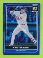 2016 Panini Donruss Optic Blue Refractor - Kris Bryant (#74)  Chicago Cubs /149