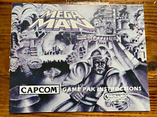 MEGA MAN Custom Replacement Game Instruction Manual Only For NES