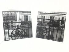 ART PRINTS Paris Hotel I/ II  Photography Allison Jerry Black and White $100
