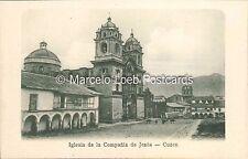 PERU CUZCO IGLESIA DE LA COMPAÑIA DE JESUS