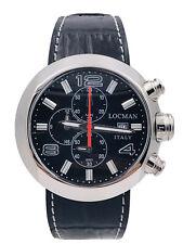Orologio Locman Change 420kPk/530 Acciaio 3 Bracciali 46mm Scontatissimo Nuovo