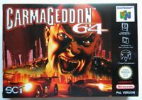 CARMAGEDDON 64 NINTENDO 64 VERSIONE PAL NEW MULTILINGUAL