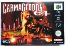 Carmageddon 64 Nintendo 64 Versione PAL Multilingual