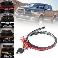"48"" LED Strobe Tailgate Strip Bar Brake Reverse Turn Signal Light Truck SUV Jeep"