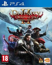 Divinity Original Sin 2 Definitive Edition (PS4) New & Sealed In Stock UK PAL