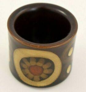 "Vintage DENBY ARABESQUE EGG CUP 4.5cm Tall (1 3/4"")"
