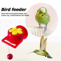 Handheld Hummingbird Feeders with Suction Cup, Multifunctional Mini Feeder S8L1