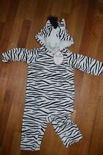 Pottery Barn Kids Baby Zebra Halloween Costume Black White Size 12 18 Months #18