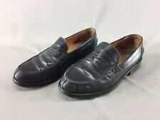 Chaussures de ville mocassins cuir artisanal ITALIE  noir t 40 CEC vintage SAC G