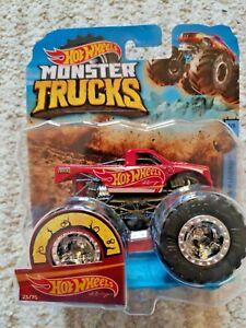 Hot Wheels Monster Trucks  HOT WHEELS RACING avec  voiture déformable
