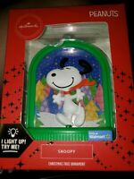 2019 Hallmark Light Up Snoopy Walmart Exclusive Ornament New Peanuts Gang New