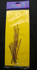 20 x plain YELLOW cello treat loot Party Bags LARGE favour bags Easter Hawaiian